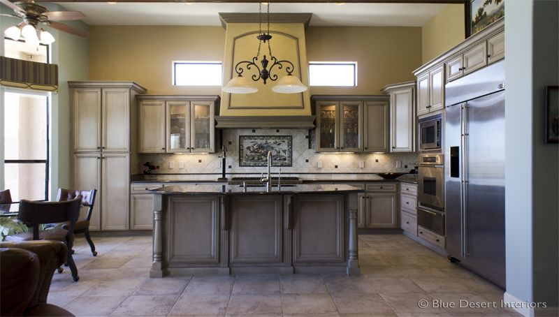 Kitchen Design And Remodeling By Arizona Interior Designer Mark LaPalm Amazing Southwest Kitchen Design